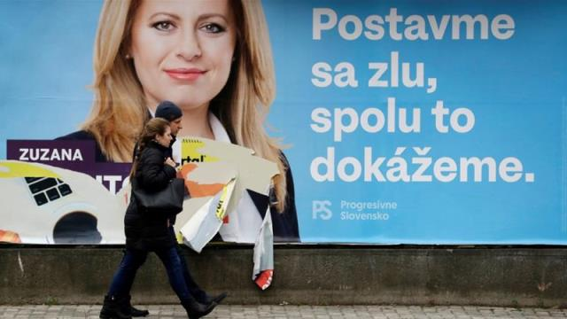 Slovakia elections: Polls open in presidential vote