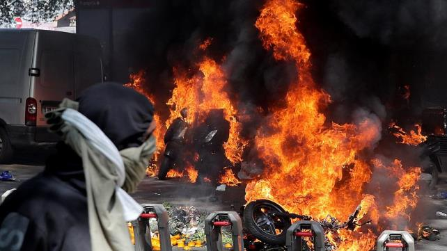 France: 137 arrested in Paris as protesters clash with police