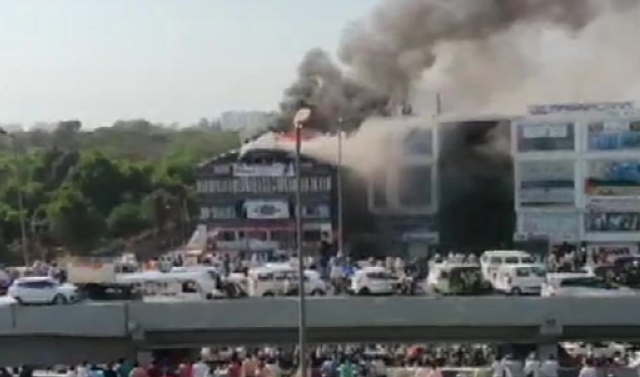 India: 17 teens die in Surat coaching centre fire; 15 jumped off building. Many survived