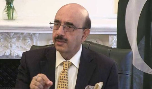 'Dialogue only way to resolve Kashmir issue', AJK president tells British delegation