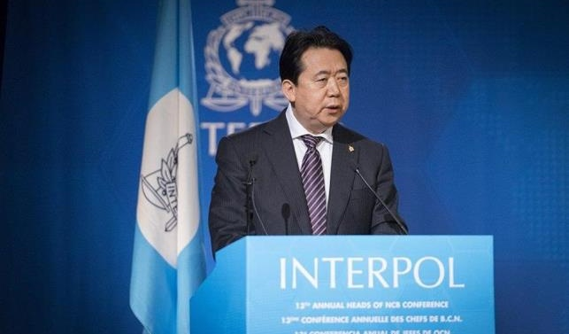 Wife of Chinese ex-Interpol chief granted asylum in France, says lawyer