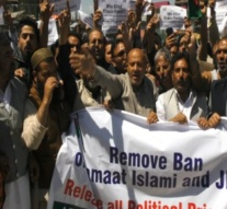 Kashmir: Former legislator Er Rasheed holds anti-government protest