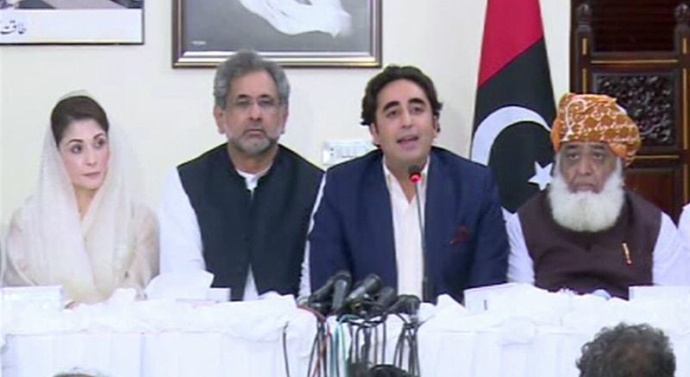 Pakistan: Opposition parties to hold protests, call APC after Eid