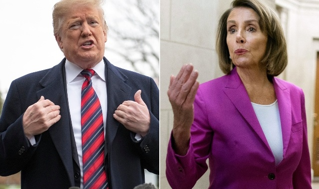 Trump and Nancy Pelosi trade barbs on mental stability