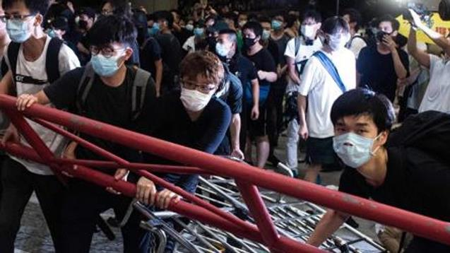 Hong Kong protests against extradition bill were 'riots': Beijing