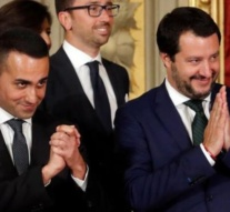 Italy's Salvini and Di Maio say government to go on, seek dialogue with EU