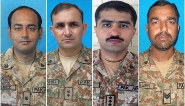 3 Pakistan Army officers, one soldier martyred in IED blast in North Waziristan: ISPR