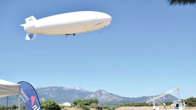 Blimp Over Greek Island Of Samos To Monitor Illegal Crossings From Turkey Voice Of Vienna