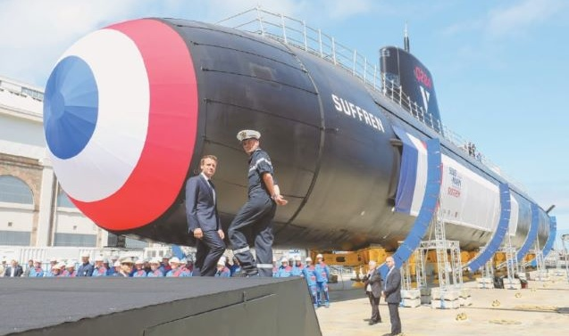 France launches new nuclear-powered attack submarine