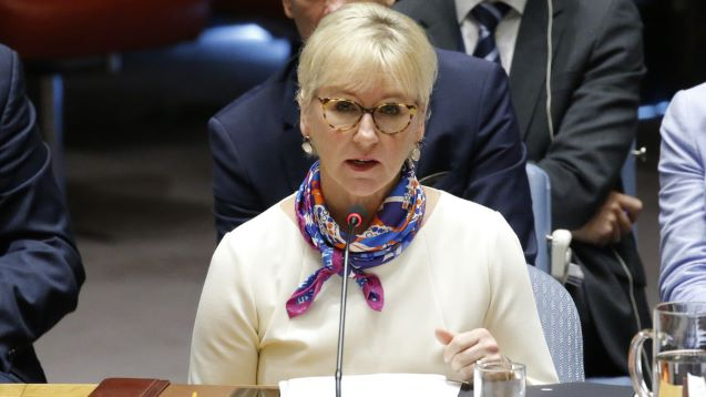 Sweden 'not signing' UN nuclear treaty – FM