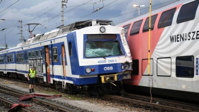 Austria: Trains collide in Vienna, Three people injured