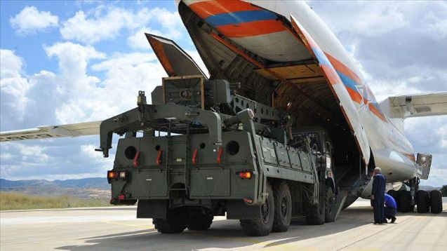 Turkey receives first shipment of Russian S-400s