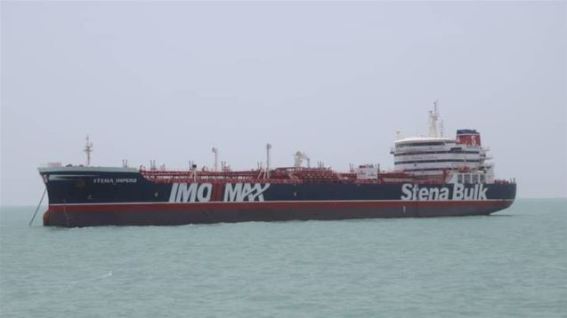 UK says tanker seizure shows Iran choosing 'dangerous path'