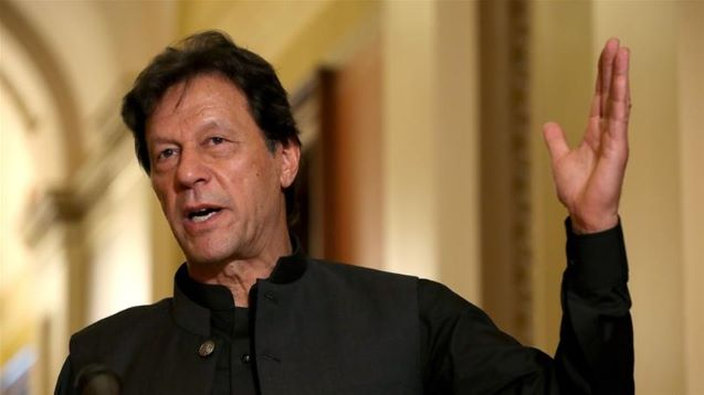Pakistan's Khan calls for international intervention over Kashmir