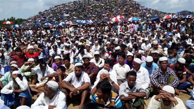'Genocide Day': Thousands of Rohingya rally in Bangladesh camps