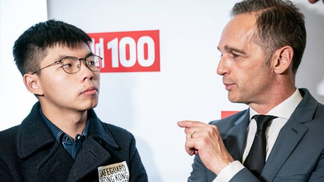Beijing lashes out at Berlin after German foreign minister meets with Hong Kong protest activist