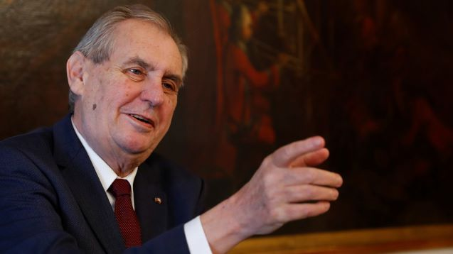 Kosovo PM cancels trip to Czech summit after Zeman comments