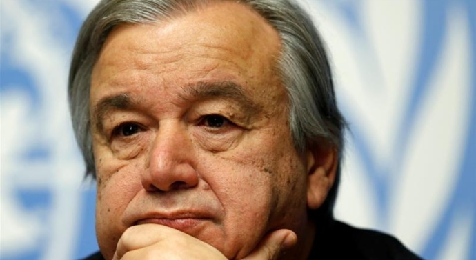 INDO-PAK DIALOGUE ABSOLUTE ESSENTIAL ELEMENT FOR RESOLVING KASHMIR: UN CHIEF