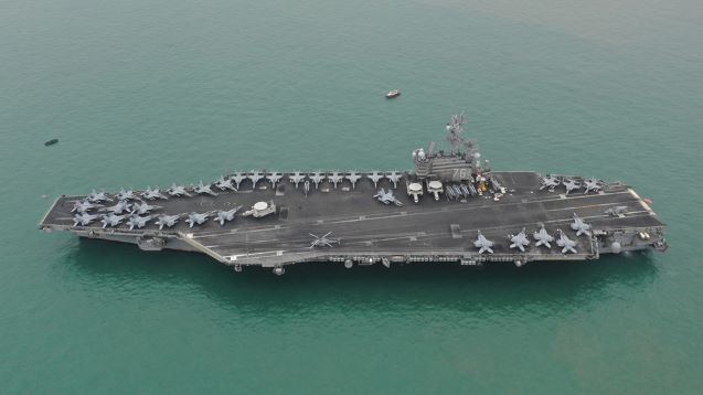 'We don't need aircraft carriers, we need weapons to sink them with' –