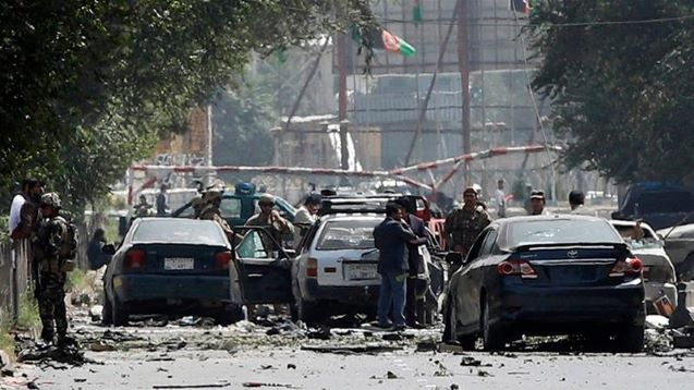 Taliban claim deadly attack near US embassy in Kabul