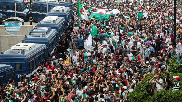 Thousands march in Algeria in first protest since election call