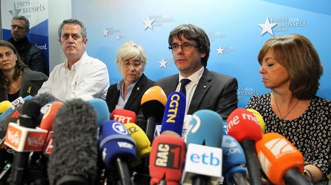 Spanish Supreme Court issues European arrest warrant for former Catalonia head Puigdemont