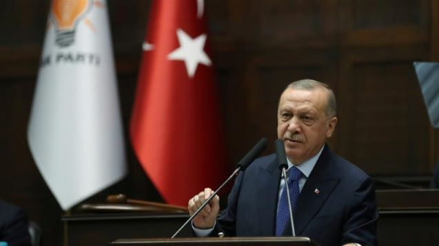 Erdogan: Syria push would end tonight if 'terrorists' withdrew