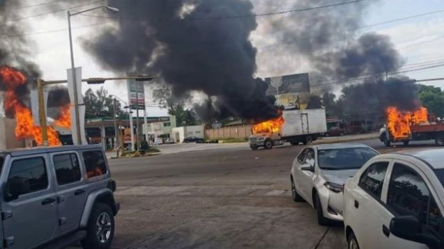 Heavy fighting erupts in Mexican city