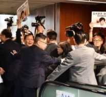 Chaos as Hong Kong's Carrie Lam tries to give 'state of the union'