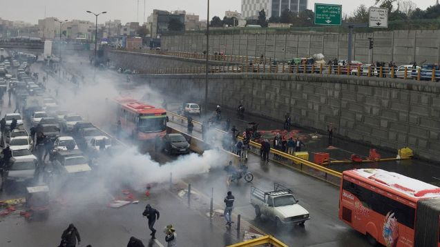Three Iranian security force members killed by protesters near Tehran – local media
