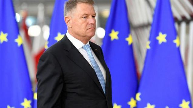 Romania's Iohannis wins first round of presidential vote- exit polls