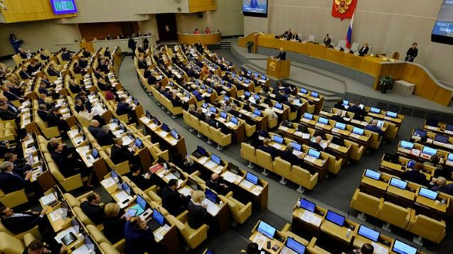 Russian parliament approves legislation that allows regular people to be designated 'foreign agents'
