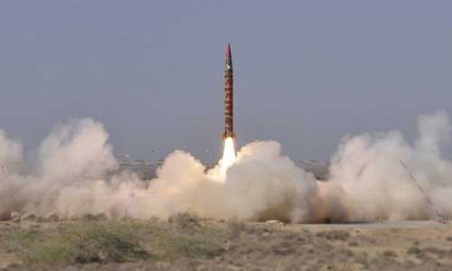 Pakistan successfully conducts test launch of surfaceto-surface ballistic missile