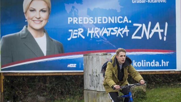 Croatia elections: Voters choose president as country prepares to lead EU