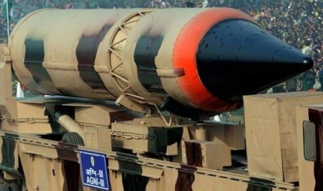Indian military suffers setback as Agni-III test fails due to 'manufacturing defect'