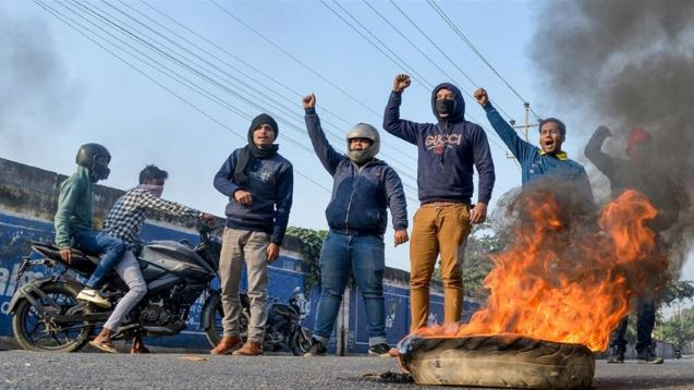 In India's northeast, protesters rally against citizenship bill