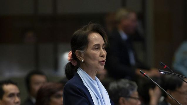 Aung San Suu Kyi defends Myanmar against genocide allegations