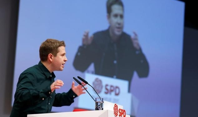 German Social Democrats give Merkel coalition a chance