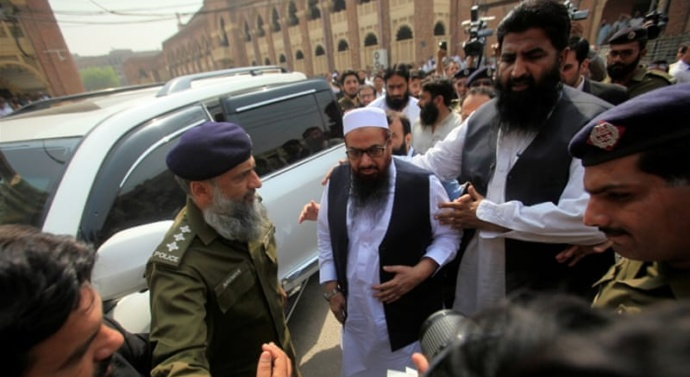 Hafiz Saeed's indictment in terror financing case delayed as officials fail to produce co-accused