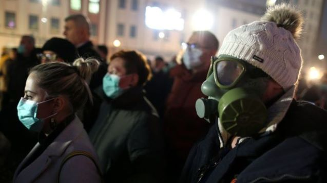 European cities grapple with dangerous smog levels