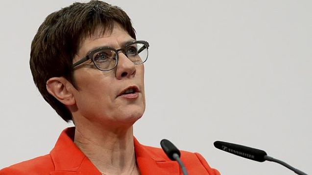 Merkel successor Annegret Kramp-Karrenbauer to quit after vote debacle