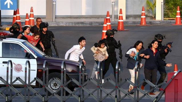 Thai military kill rogue soldier who shot dead at least 26 people