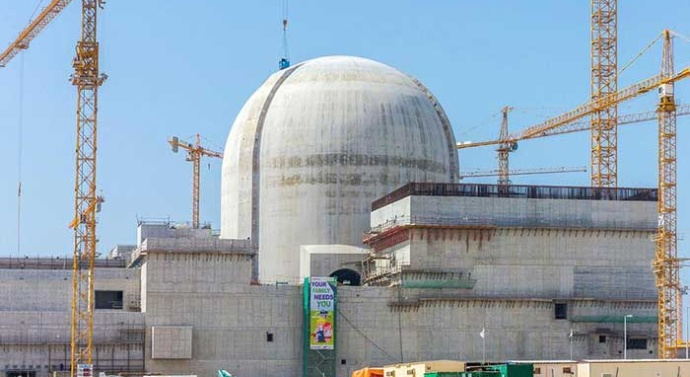 UAE set to open Arab world's first nuclear power plant