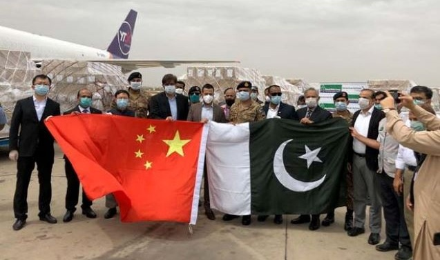 Chinese billionaire donates 500,000 surgical masks, 50,000 test kits to Pakistan