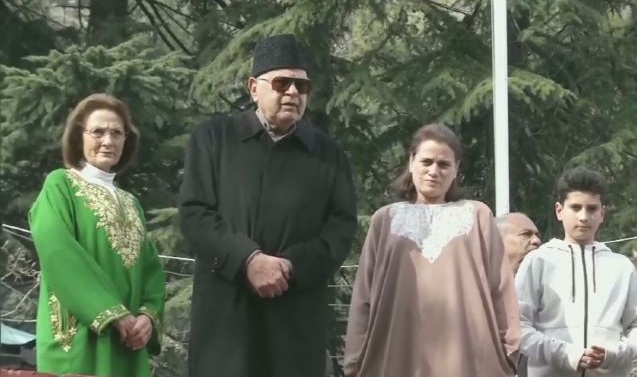 'I am free today,' saysFarooq Abdullah after release from 7-month-long detention