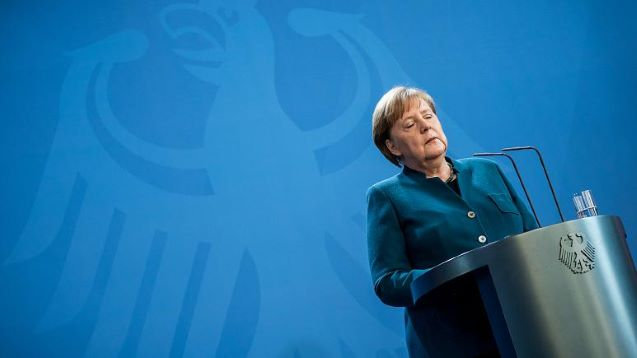 German Chancellor Merkel in quarantine as Italy's death toll exceeds 5,000