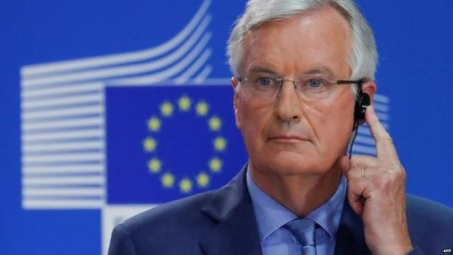 Brexit: Disappointing progress in trade talks, says Michel Barnier