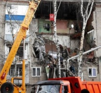 Seconds massive gas explosion in Moscow region apartment building