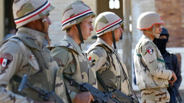 Egypt says 21 fighters killed during raids in Sinai