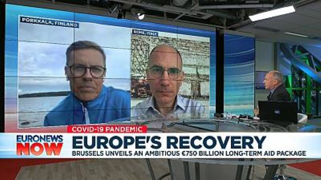 'Frugal Four' will come round to EU's €750bn COVID-19 recovery fund, says former Finland PM Stubb
